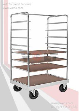 Shelf Level Adjustable Trolley
