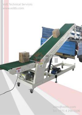 Dockless Conveyor Trailer
