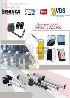 Gate Automation & Security Access