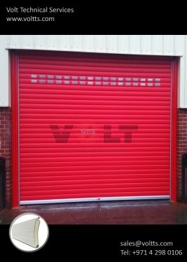 Insulated Rolling Shutter