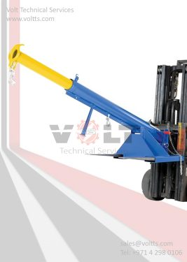 Telescoping Jib Crane