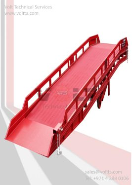 Container off Loading Mobile Ramp