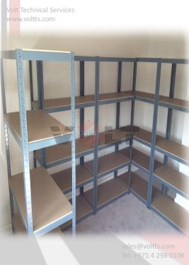Customized Shelving