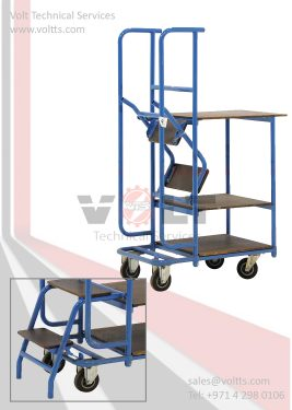 Trolley & Folding Ladder