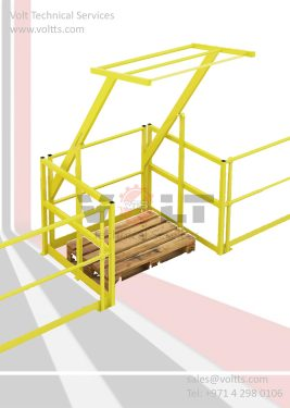 Mezzanine Access Pallet Gate
