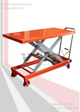 Mobile Scissor Lift Trolley