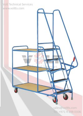 Store Room Trolley & Ladder