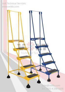 Spring Base Ladder