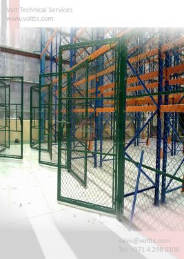 Rack Chain Link Partition