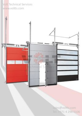 Sectional Roll Up Door
