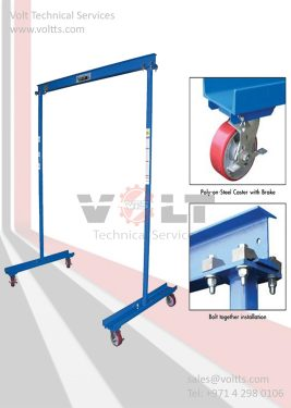 Work Area Portable Gantry Cranes